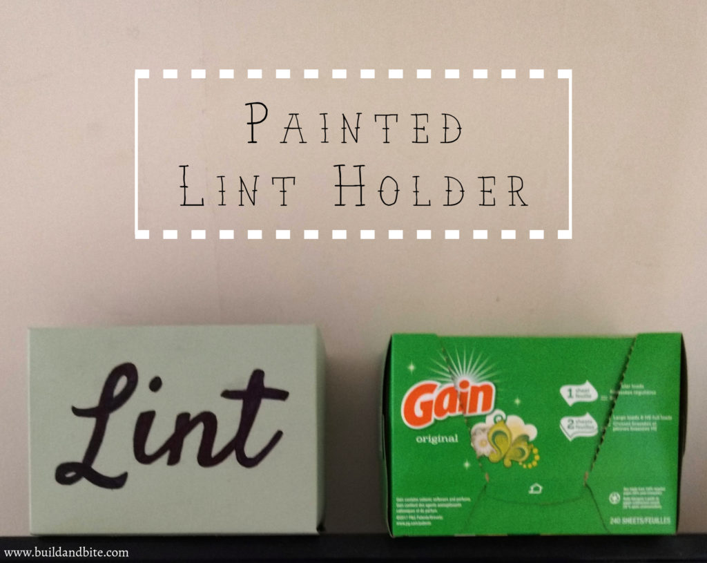 painted lint holder on clothes dryer pinterest image